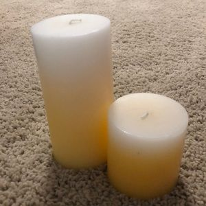 Other - Yellow scented candles